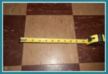 9x9 floor tiles found in Delmar home inspection