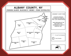 Albany county radon measurements